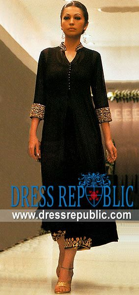 Black Mirren, Product code: DR3707, by www.dressrepublic.com - Keywords: Black Casual Dress, Black Party and Casual Dress, Black Romantic Casual Dress