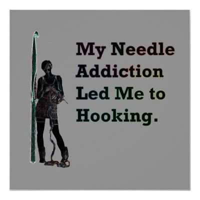 OMG...   this is perfect!!!  My needle addiction led me to hooking.