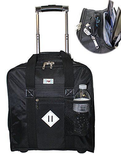 BoardingBlue Allegiant Air FREE Rolling Personal Item Under seat Carry on in Black ** Check out this great product by click affiliate link Amazon.com