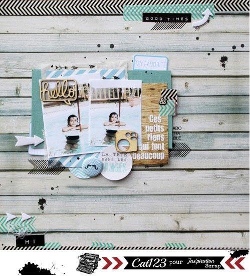 ces petits riens .... for Jaspiration Scrap, online Magasine - Scrapbook.com