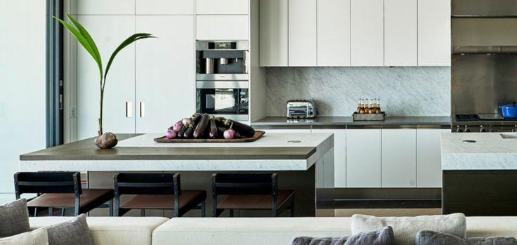 Belle cuisine au design moderne de cette maison secondaire