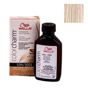 $3.99 Wella Color Charm - Liquid Creme Haircolor - # 1001/10N