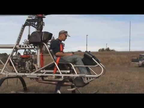 Homebuilt Helicopter from beginning to end - YouTube