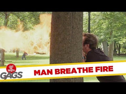 Man Breathes Fire Prank – Just for Laughs Gags … | Bear Tales http://beartales.me/2014/11/07/man-breathes-fire-prank-just-for-laughs-gags/