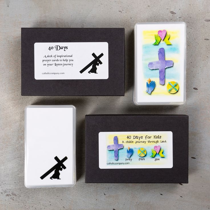 40 Days of Lent Family Card Pack | The Catholic Company