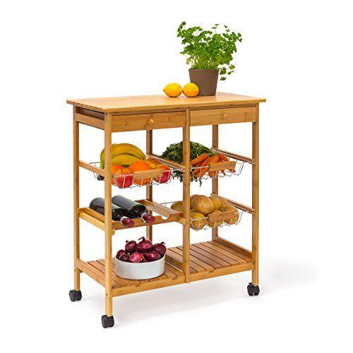 Yli tuhat ideaa Küchenrollwagen Pinterestissä Wpc - küchenwagen mit schubladen