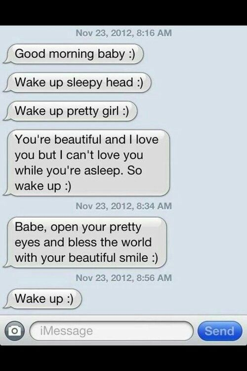 Sweet long text messages for him