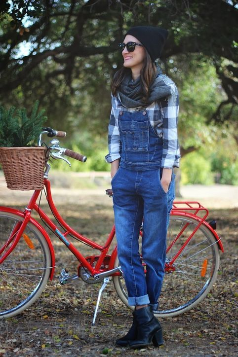 Cute Casual Outfit Ideas: Ways to Wear Overalls This Fall and Winter: Glamour waysify