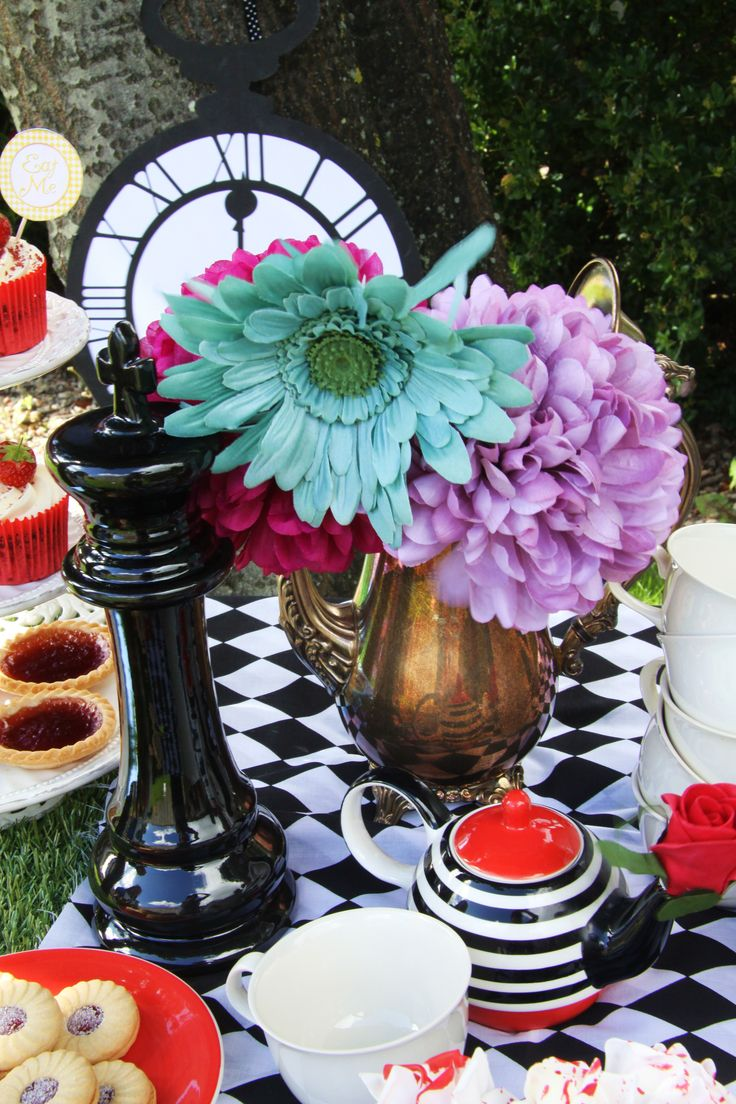 29adff9242f 17 Best images about Bridal Shower Mad Hatter Tea Party on .