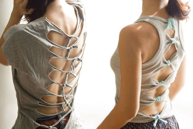 Upcycle old clothes 24 ideas how to reuse t shirts and for Recycle and redesign ideas