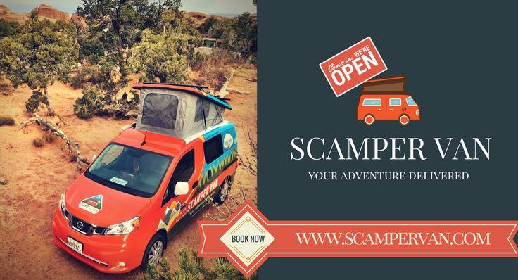 Campervan atlanta scamper van campervan for hire