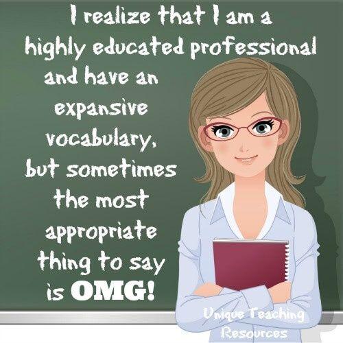 Omg professional teacher | Education ideas teachers student