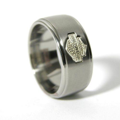 Titanium+Harley+Davidson+Ring+-+Badass+Biker+Rings