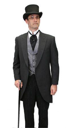 Gentlemans Emporium -- Mens Edwardian Clothing -- Outfit 020 - Late Victorian, Edwardian