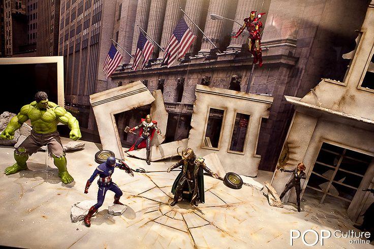 superhero diorama Google Search Diorama Diorama