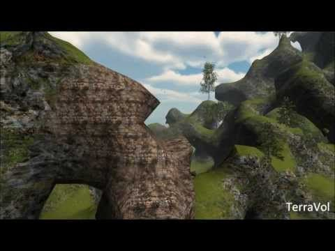 TerraVol: the next-gen voxel engine for Unity 3D - YouTube