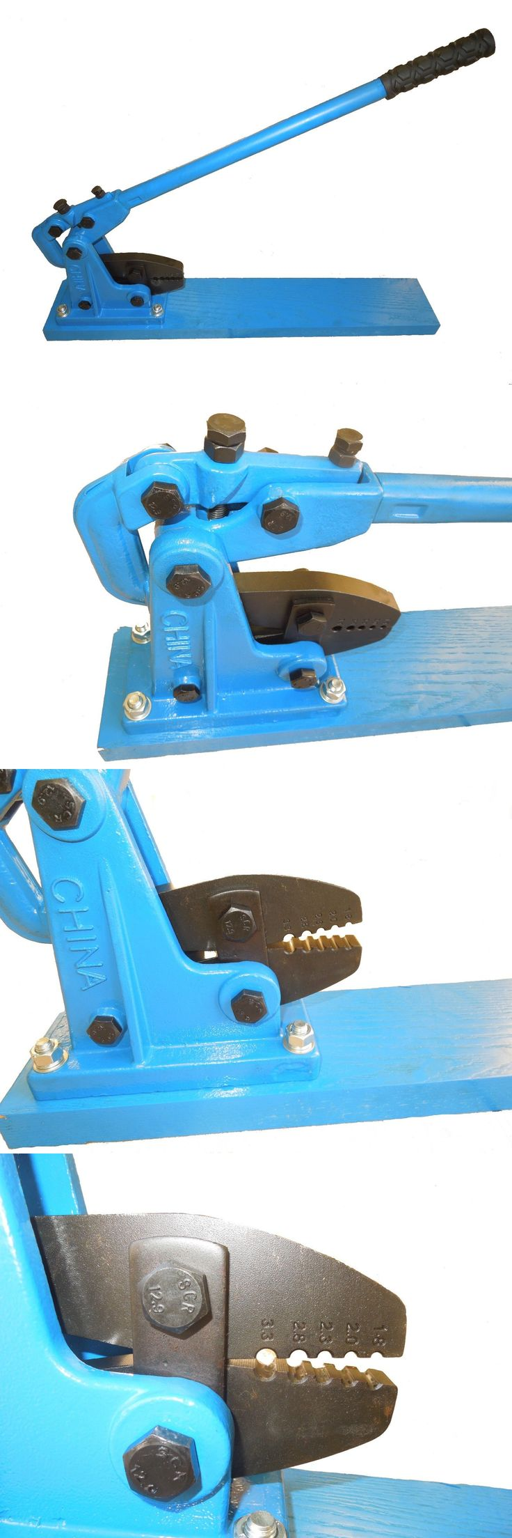 Other Fishing Equipment 27414: Commercial Fishing Bench Crimper Big Blue For Mono Or Cable Warehouse Sale!! -> BUY IT NOW ONLY: $219.0 on eBay!
