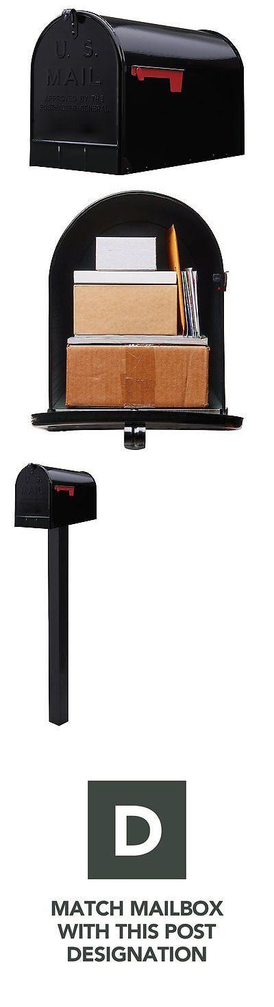 Mailboxes and Slots 20599: Solar St200b00 Group Jumbo Steel Rural Mailbox, Black -> BUY IT NOW ONLY: $42.29 on eBay!