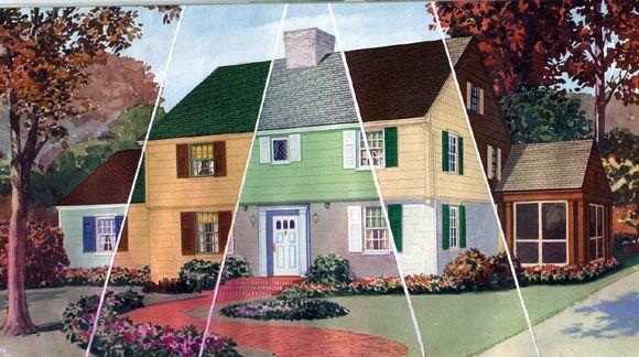 32 Best Images About Exterior Historic Paint Colors On