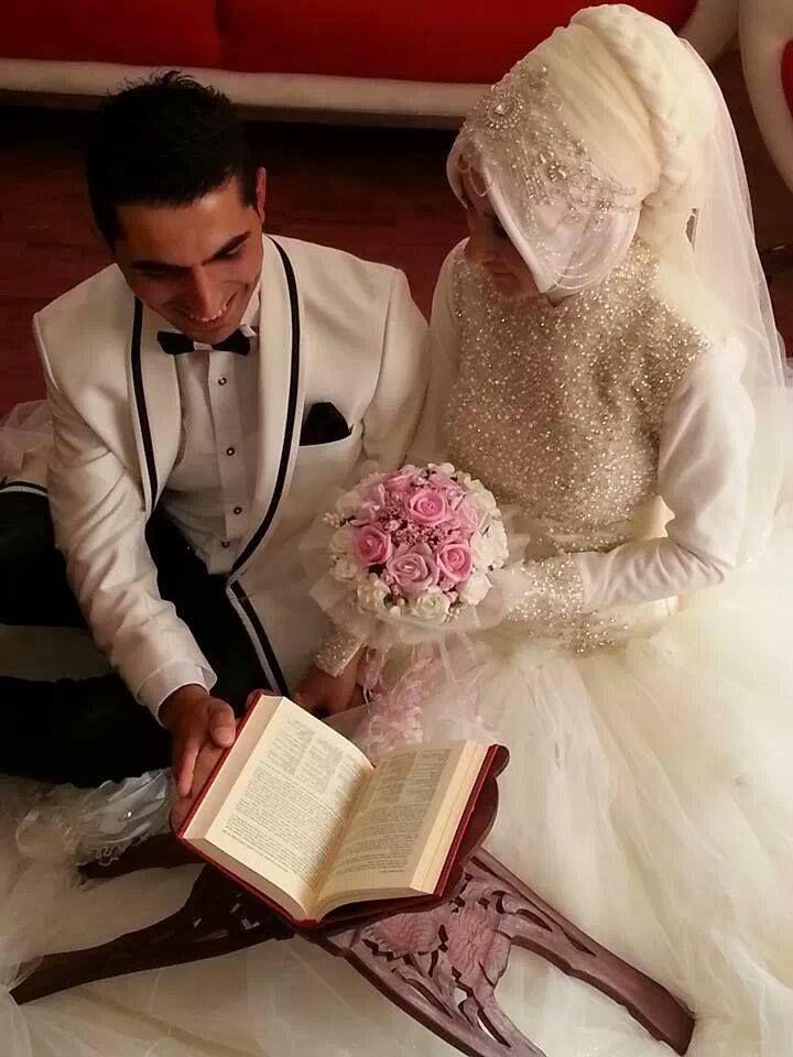 Turkish bride and groom ☪