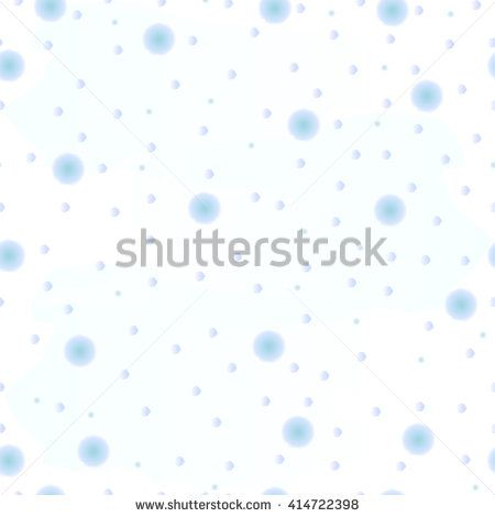 watercolor seamless tender drops pattern