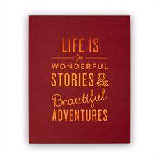 "Life is Wonderful Art Print – 8"" x 10"""