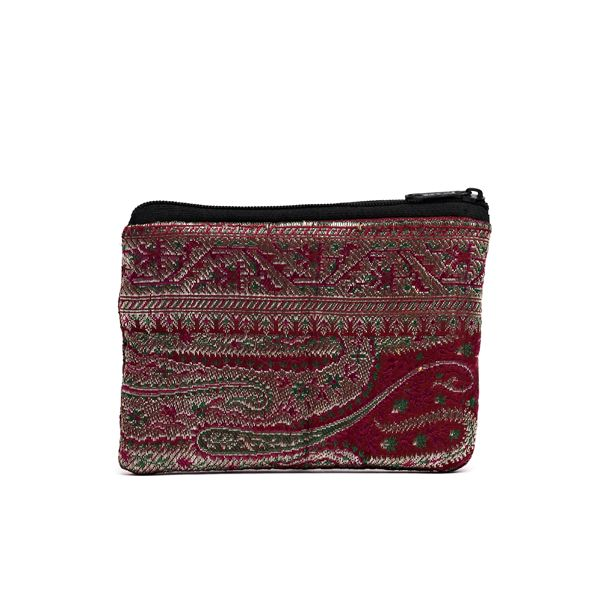 Guru Apparel Change Purse - made from an upcycled sari. No two are alike.