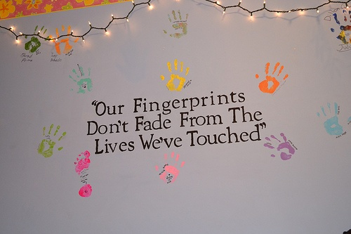 This I believe is true :)  -ds: Nurseries Wall, Hands Prints, Youth Rooms, Social Workers, Cute Bulletin Boards, Make A Difference, Hands Therapy, Baby Shower Gifts, Teacher Quotes
