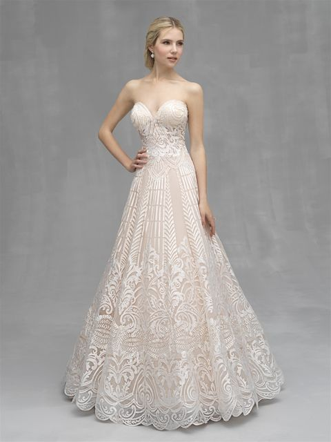 df3faea40b4 Allure Couture Wedding Dress C531 2019