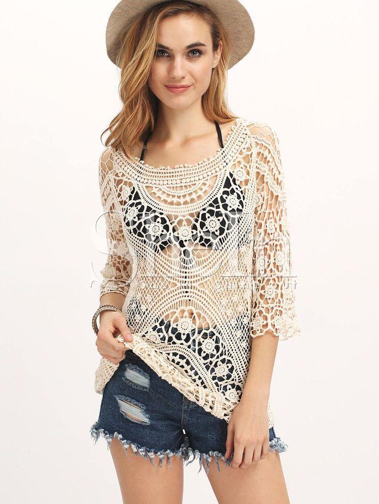 beach crochet dress, summer clothing,gift ideas, masterpiece,cotton,viscoze,women's dress,girl's clothing by TinasHandicraftGr on Etsy