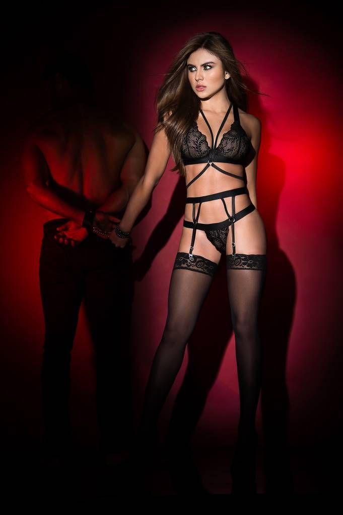 33eed4d6e55d1 All the yaaaasssssses for our new Francesca bra   garter set! 😍
