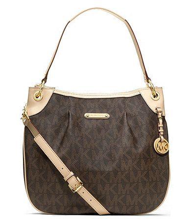 MICHAEL Michael Kors Jet Set Item Large Signature Shoulder Bag - Shop All Michael  Kors Handbags \u0026 Accessories - Handbags \u0026 Accessories - Mac.
