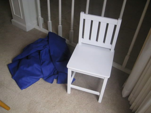 Chair Pockets For The Back Of Student Chairs With Easy Instructions