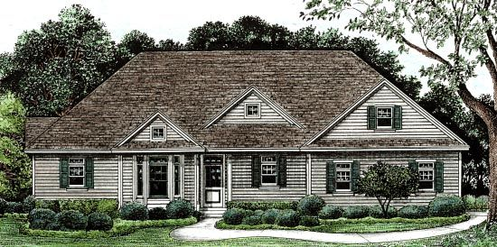Traditional House Plan 68135