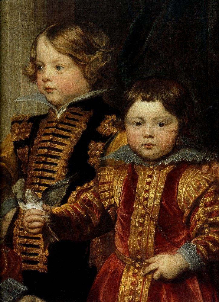 Sir Anthony van Dyck (Антонис ван Дейк, Flemish painter, 1599–1641) \2\. Обсуждение на LiveInternet - Российский Сервис Онлайн-Дневников Antoine van Dyck Les Enfants Baldi, detail 1627