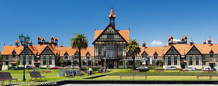 Old Government building Rotorua  - NEW ZEALAND NORTH ISLAND
