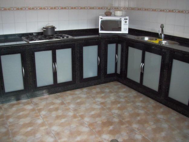 Empotrados de cocina muebles de aluminio pinterest - Puertas de aluminio para cocinas ...