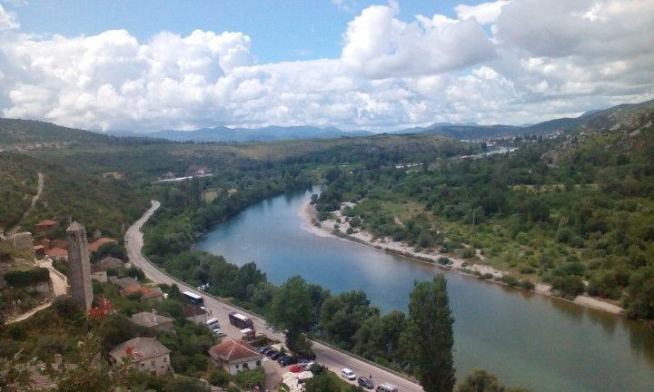 Bosnia Pocitelj,  very nice river!