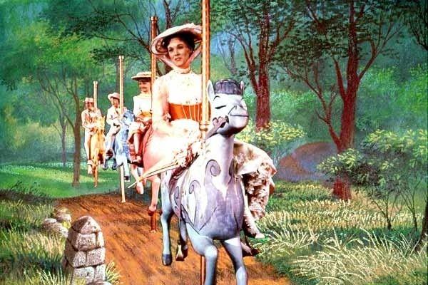 mary poppins carousel horse
