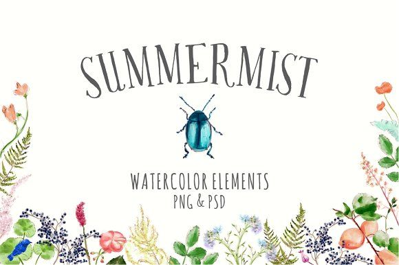 Summer Mist by Storyteller Imagery on @creativemarket