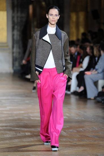 Stella McCartney hot pink pants