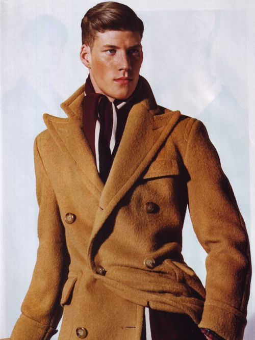 The Polo Coat Reference Photo: Old Polo Ralph Lauren ad.