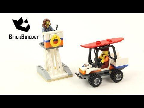 Lego City 60163 Coast Guard Starter Set - Lego Speed Build