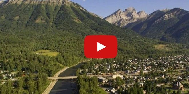 Bird's Eye View–Fernie, B.C. by Air - SnowsportsCulture.com
