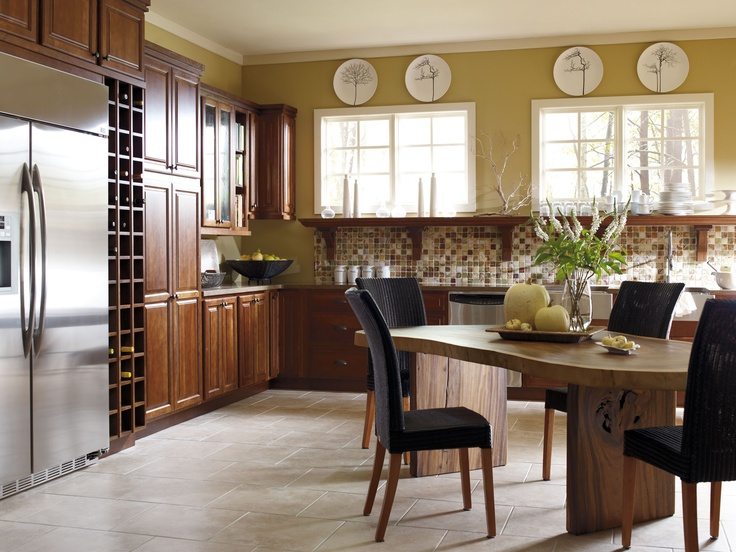 Create A Modern Day Countryside Feel With Lynton Hickory Doors In A Havana Finish By Hickory Kitchen Cabinetskitchen
