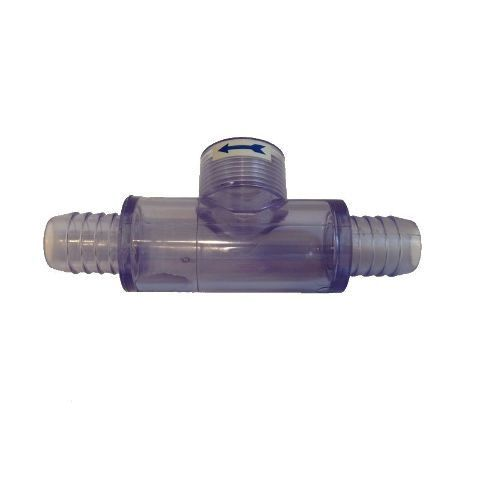 """Sundance Spas Flow Switch """"""""T"""""""" Only (No Flow Switch Included), No Bypass Valve"""