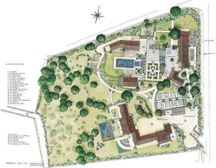 Best Garden Plans Images On Pinterest Landscape Plans