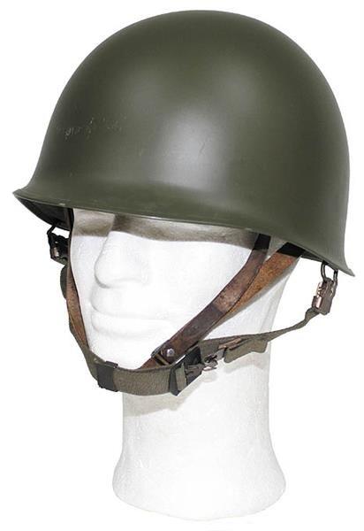 U.S. M1 Helmet with PVC Inner Helmet is a great item for collectors, costumes, or reenactments.