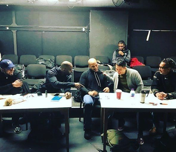 @theartistnamedjordan -  A weekend full of auditions for the @thetcn #monologueslam. After some intense deliberations I think we got there in the end! @niiodarteievans @darrenoderinde  @michael.moor @anthonyvander_  @fightgravityfilms @theatre_royal_stratford_east #mslamuk #helpingpeoplehappen #actorslife #theatre #performers #uk #producers #directors #entertainment #art #casting #auditions - #regrann