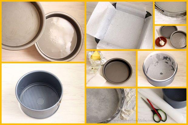 DIY How to Prepare Cake Tins, Cake Pans #diy #kitchen #caketins #cakepans